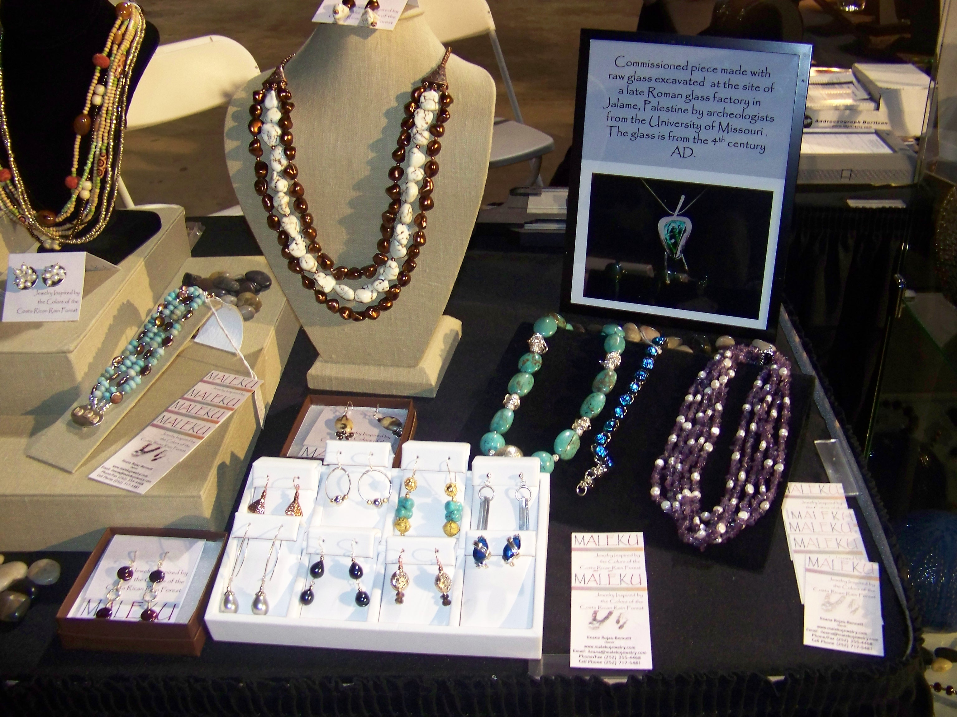 Maleku Jewelry at Miami Fashion Week